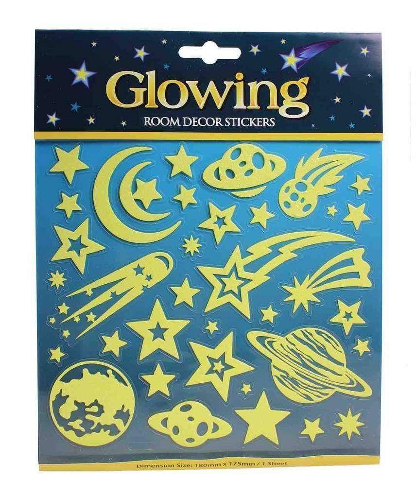 Glitter glow wall decals glitterwalls