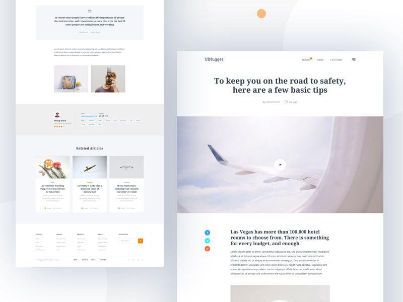 Blog Article Explore Blog Layout Blog Layout Design Grid Web Design