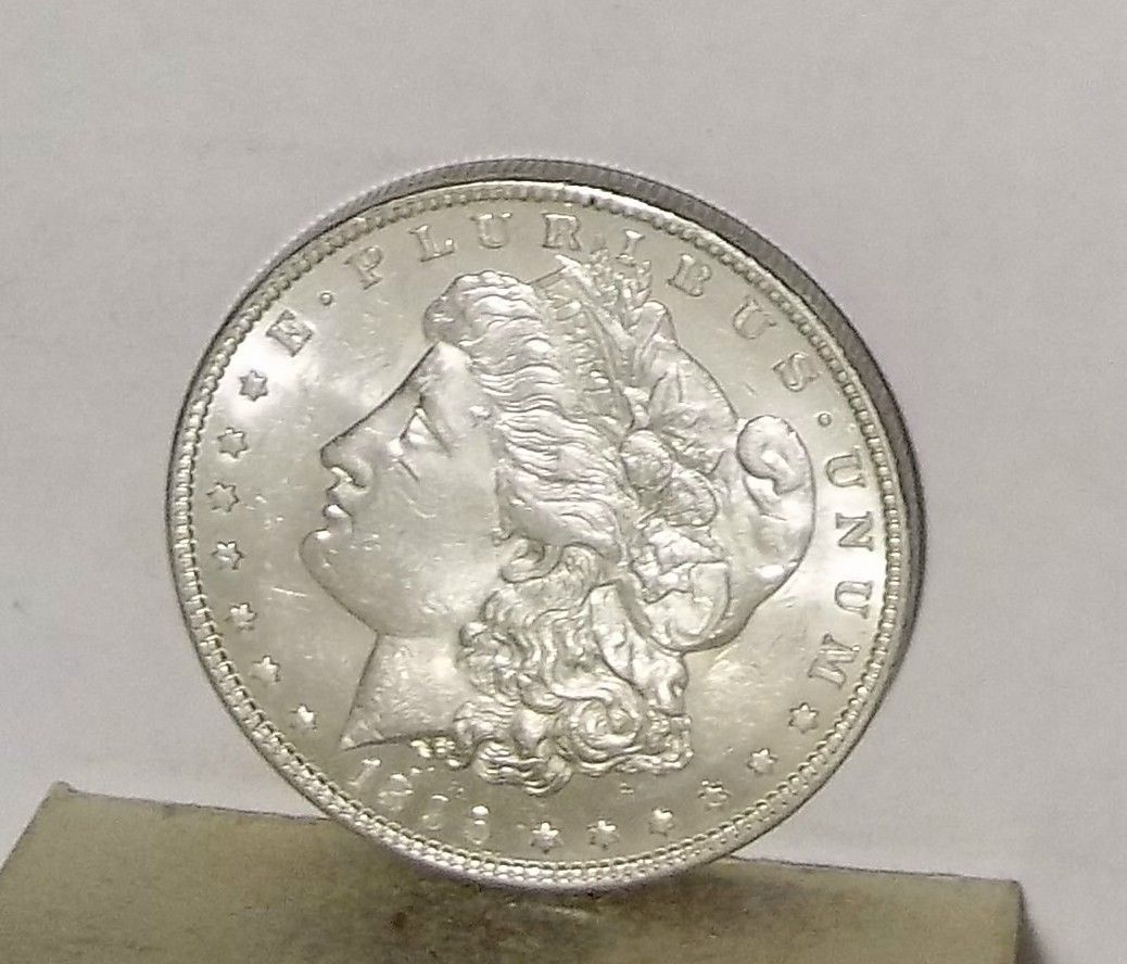 1896      MORGAN SILVER DOLLAR..........NO RESERVE   . https://t.co/S8DsT2eyEc https://t.co/safHULZIac