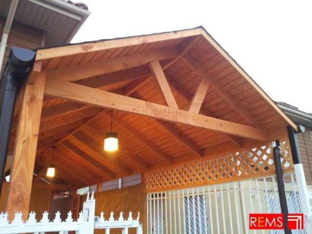 Resultado de imagen para vigas a la vista vigas for Choza de jardin de madera techo plano