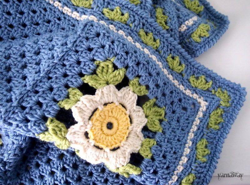 daisy chain | yarnaway: a crochet scrapbook | crochet | Pinterest ...