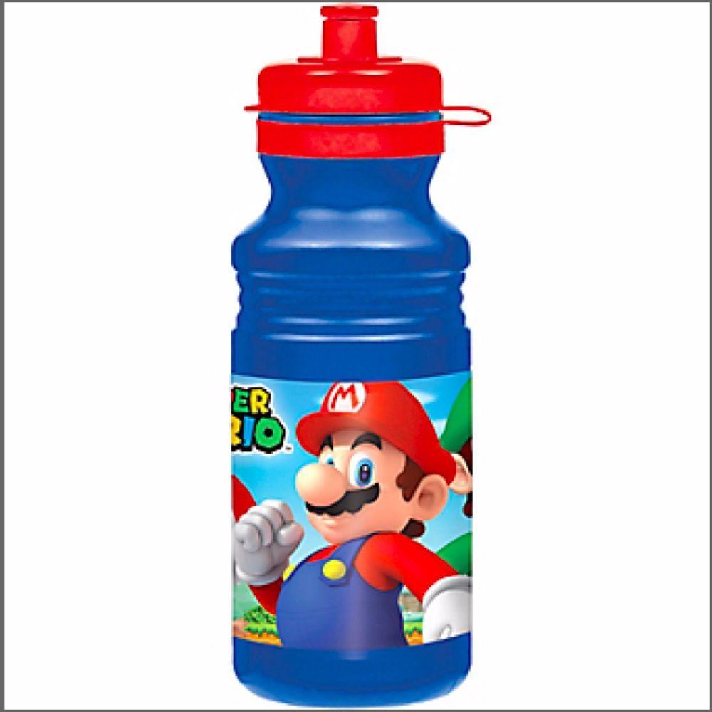 Super Mario Drink Bottle Water Bottles Birthday Party
