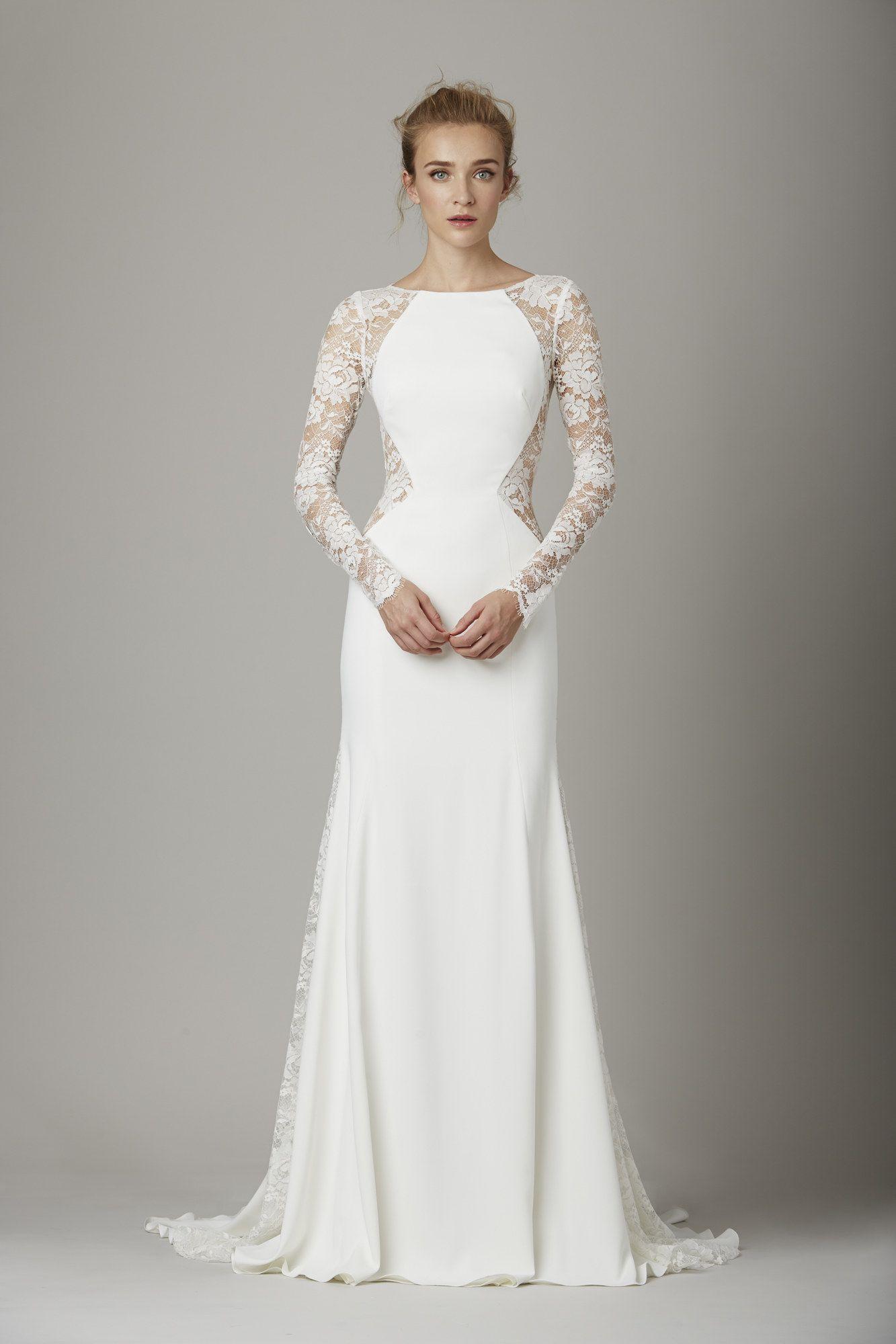 Conservative wedding dresses  Lela Rose Bridal Fall  Fashion Show  Lela rose Rose and
