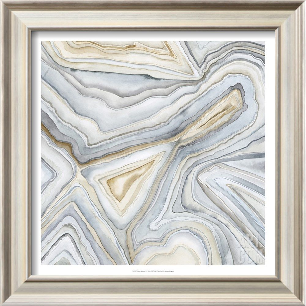 Agate Abstract I Stretched Canvas Print Megan Meagher Art Com Abstract Canvas Art Framed Art Prints Canvas Wall Art