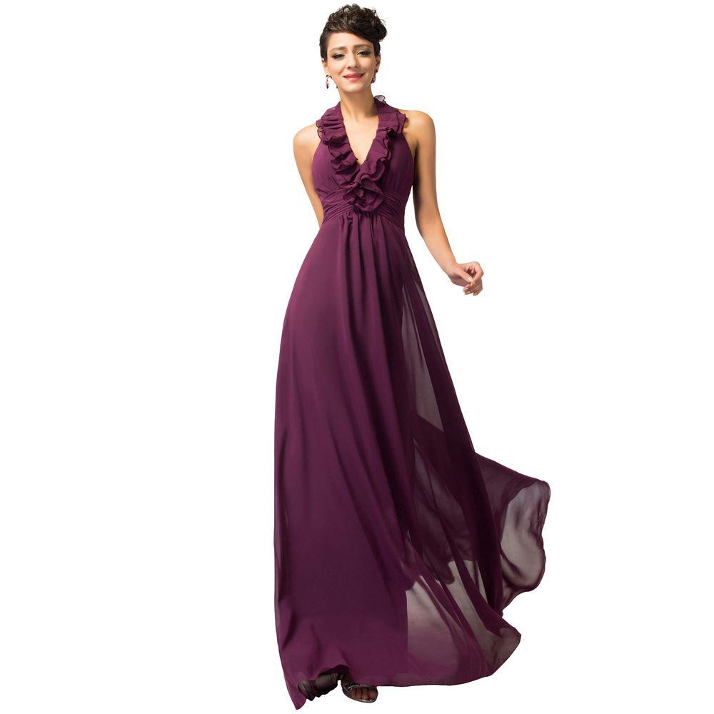 deff2e27d Aliexpress.com  Comprar Gracia Karin Halter de las colmenas vino vestido de  noche rojo