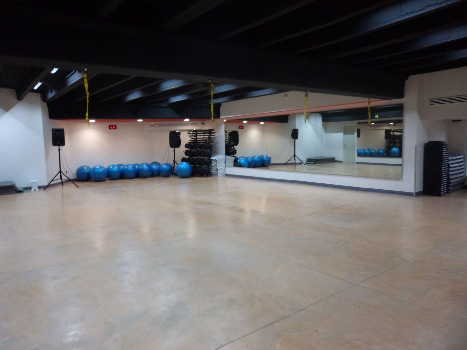 Fitness center fitness center basketball court basketball