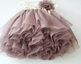 Flowergirls dress | Etsy | Tutu kleid, Tutu, Tüll blumen