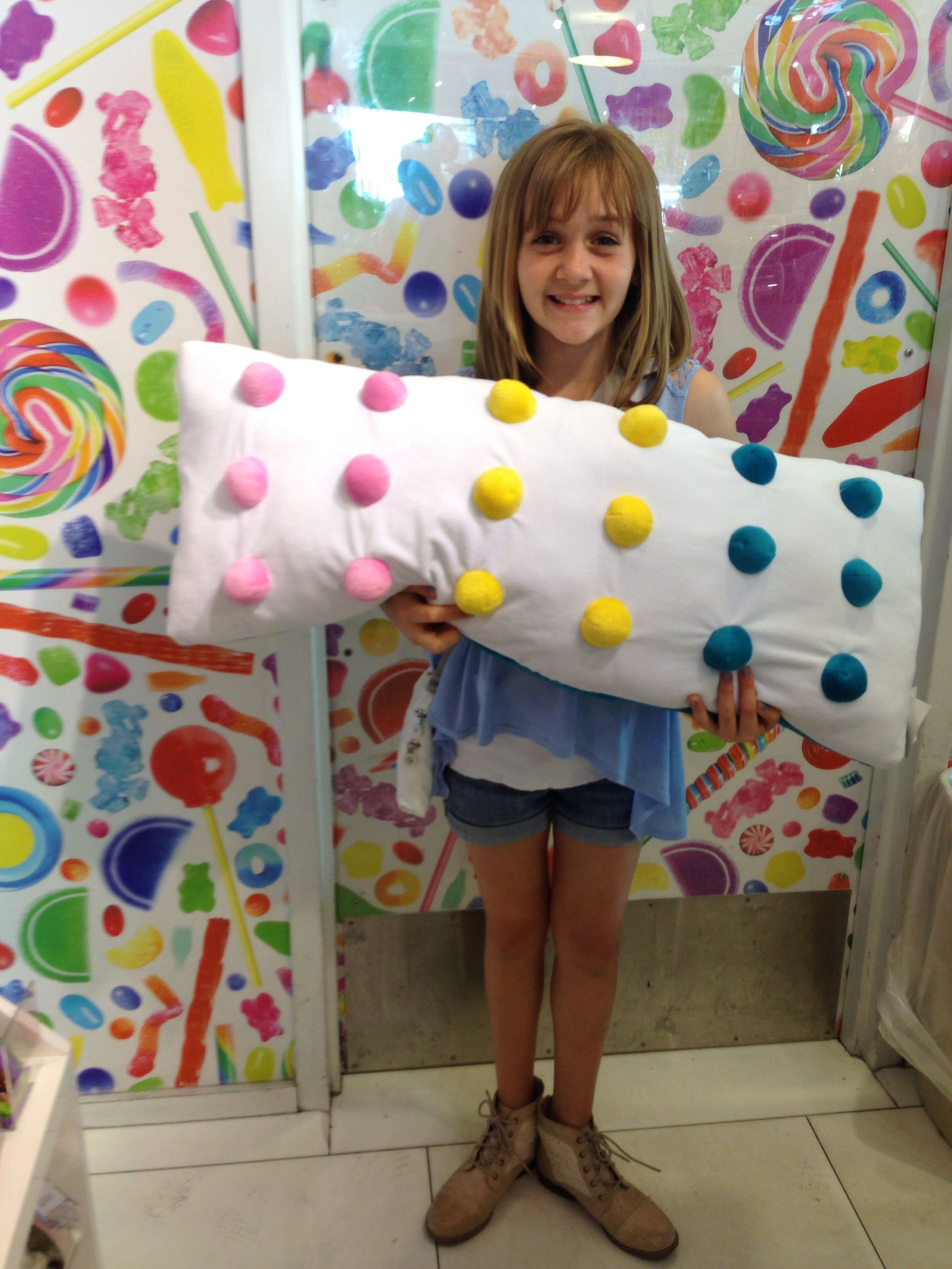 Dots Candy Pillow For Bedroom Candy Themed Bedroom