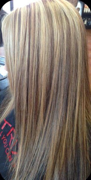 Blonde With Brown Lowlights Blonde Brown Longhair