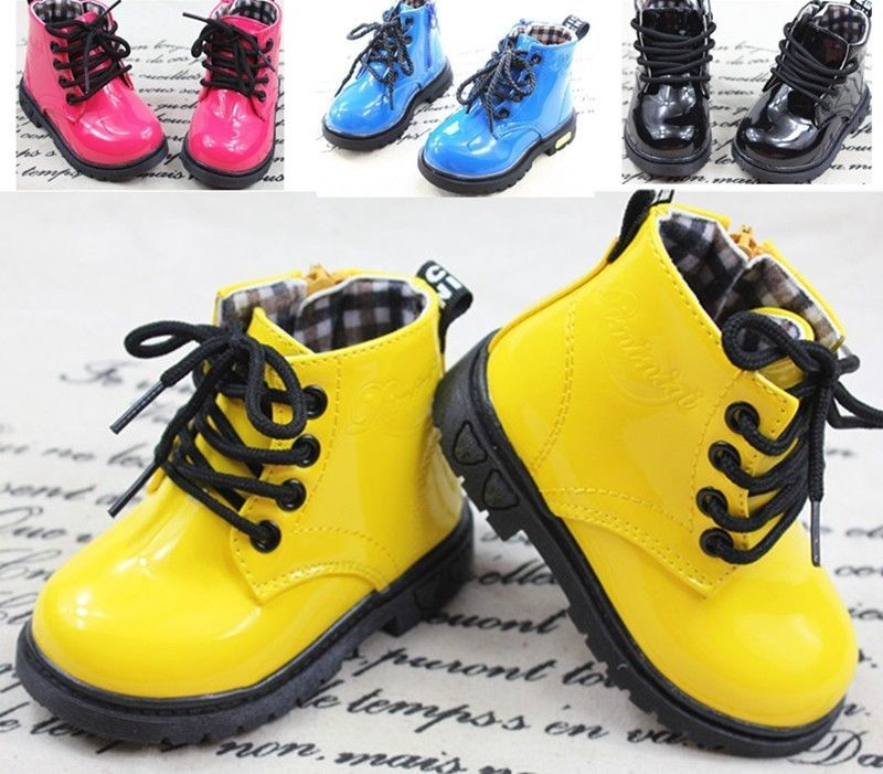 New Baby Shoes Boots Girls Boys Martin boots Childrens Kids shoes boots  Size 6-4