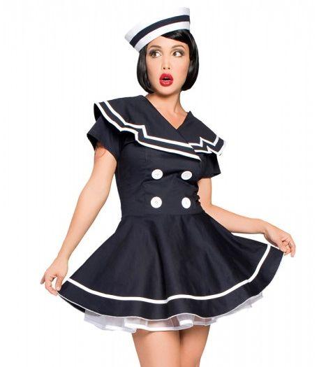Pin Up Girl Sailor Dress