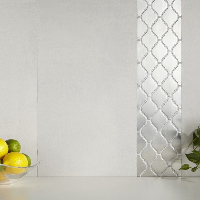 Arizona Tile Stainless Steel Mosaics Are Metal Tiles On A Porcelain Body