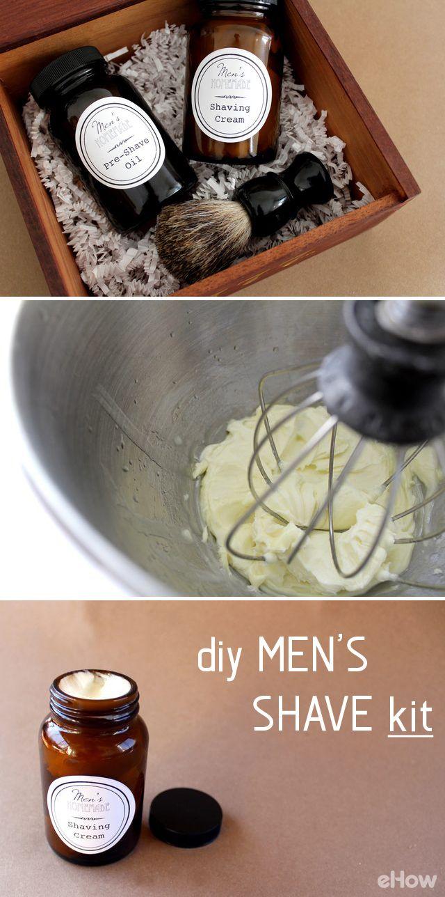 DIY Men's Shave Kit Diy gifts for boyfriend, Diy gifts