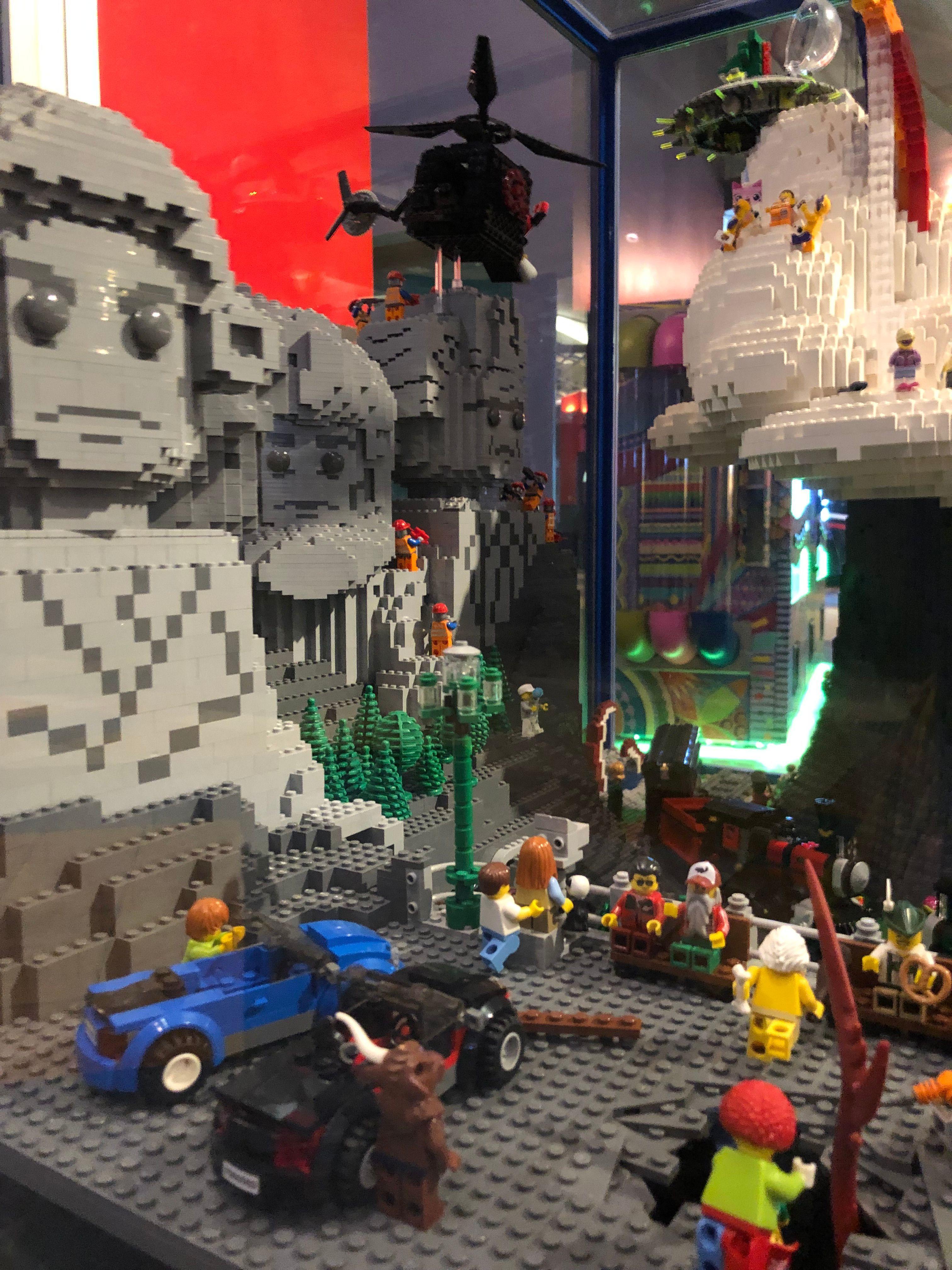 The LEGO Americana Roadshow visited Crossgates Mall in ...