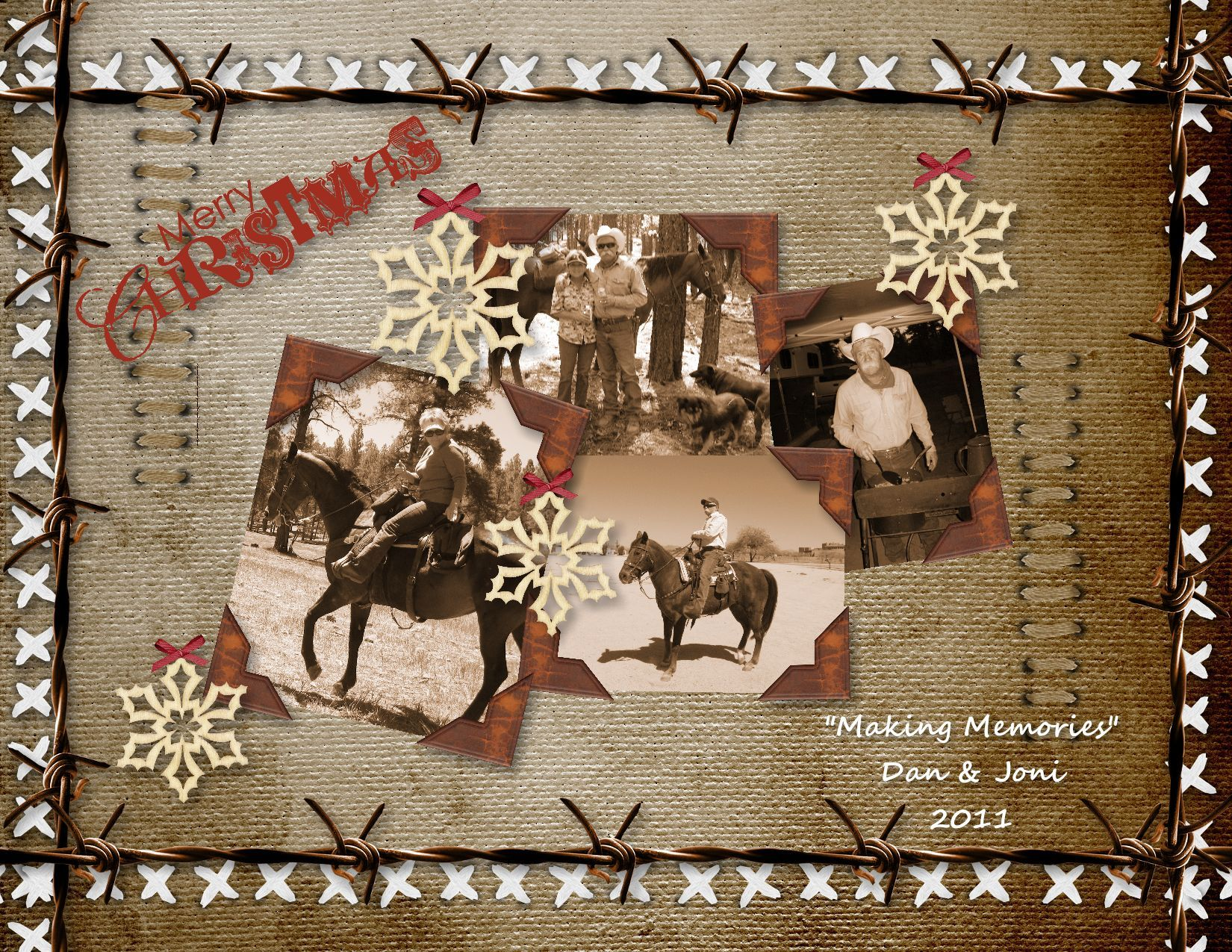 Western Christmas card 2011 | Cards | Pinterest | Western christmas ...