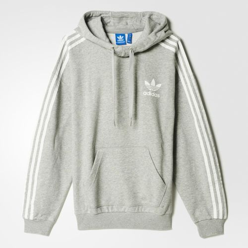 adidas 3-Stripes Hoodie - Black | adidas US in 2019 | Grey ...