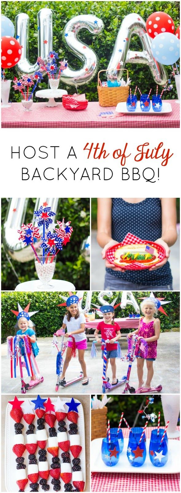 4Th Of July Backyard Party Ideas host a 4th of july party - 7 simple ideas to try! | let's celebrate