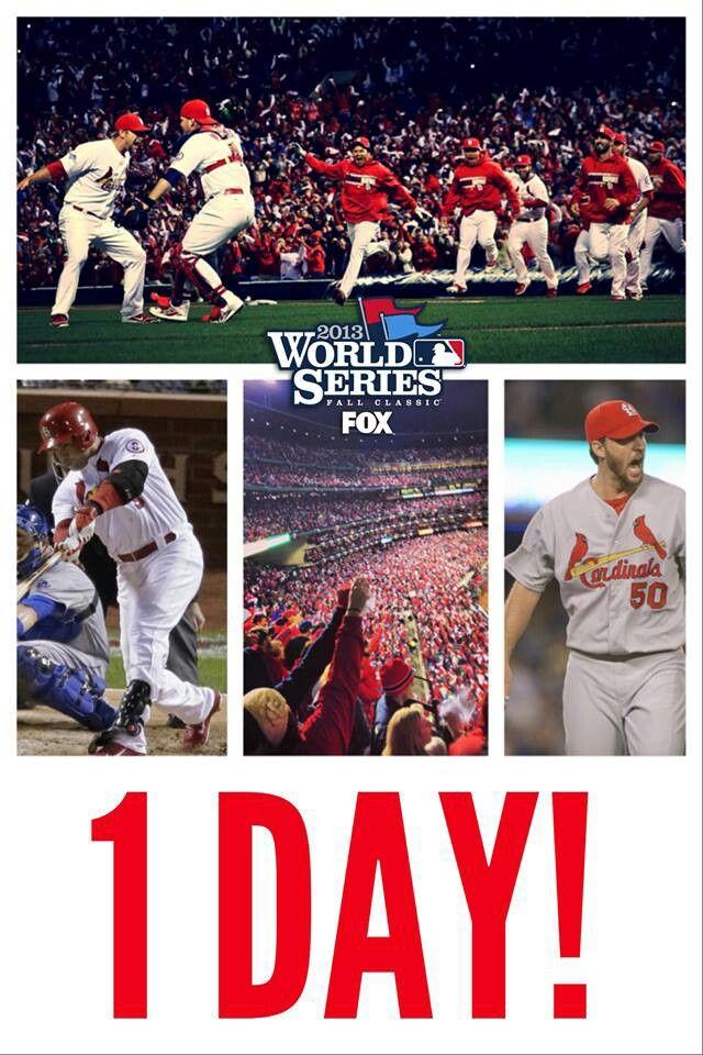 One Day 2013 World Series Stl Cardinals St Louis Cardinals