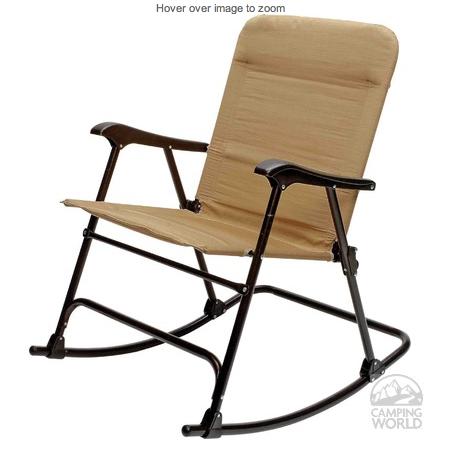 Camping World portable rocking chair Camping rocking