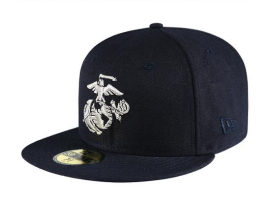 Eagle Globe 59Fifty Fitted Baseball Cap USMC x NEW ERA  6d6f8caf542