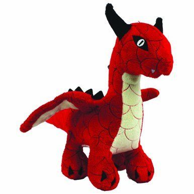 Vip Mighty Dragon Interactive Extreme Durable Tug Pet Dog Fun Play