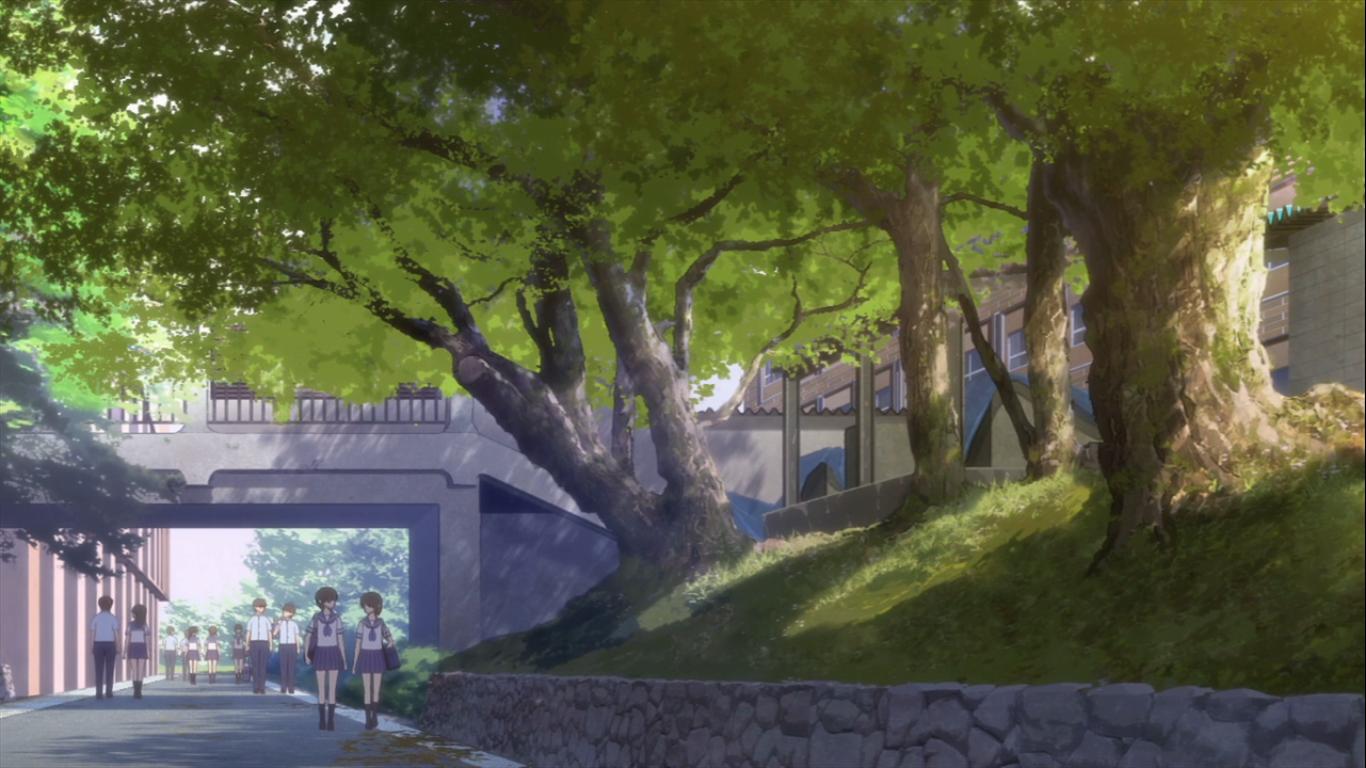hanasaku endroit de r ve anime scenery wallpaper anime scenery v anime artwork. Black Bedroom Furniture Sets. Home Design Ideas
