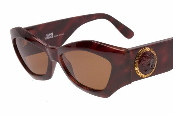 2ab5a853f54f Gianni Versace sunglasses Mod. 420 C medusa + greek frame hand made ...