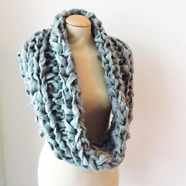 New FREE pattern on my website for a truly humongous cowl: the Gymir cowl. http://ift.tt/1LKUCe2 for details!  #knitting #extremeknitting #cowl #lavischdesigns #gymir
