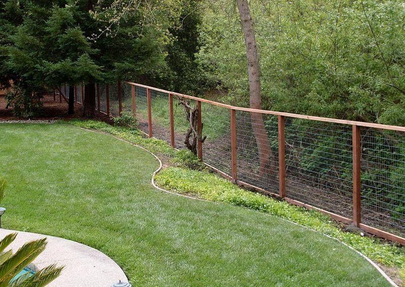 Superbe Gardens · Stunning Design Deer Fencing ...