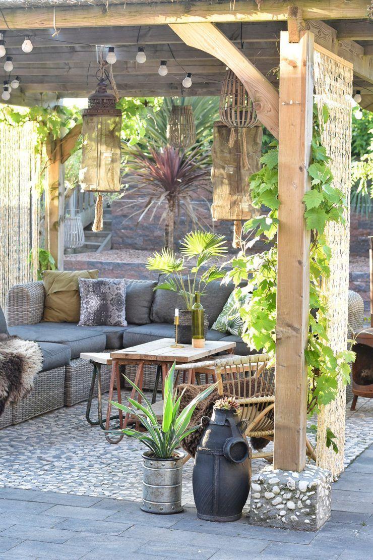 Mediterrane Pergola buitenkijker op vakantie in eigen tuin gardens garden ideas and