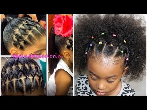 5 Simple Easy Braid Style Tutorials For Little Girls Voice Of Hair In 2020 Natural Hair Styles Kids Hairstyles Kids Braided Hairstyles