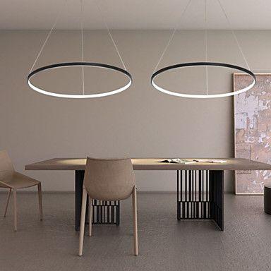 40W Contemporaneo LED Metallo Luci Pendenti Salotto / Sala da pranzo ...