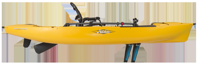 Hobie Kayaks Mirage Pro Angler 12 Golden Papaya