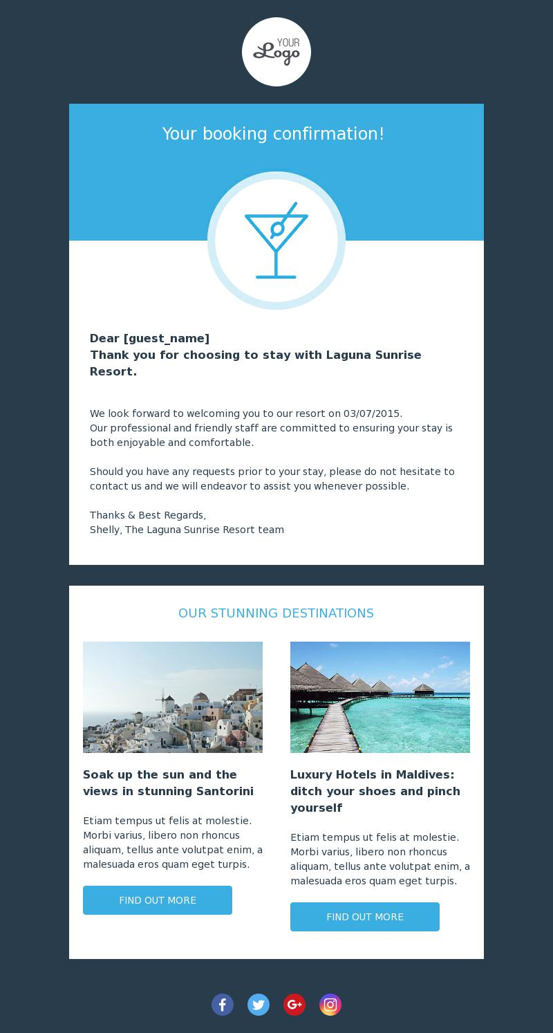 Template Travel, leisure, Templates, Sunrise resort