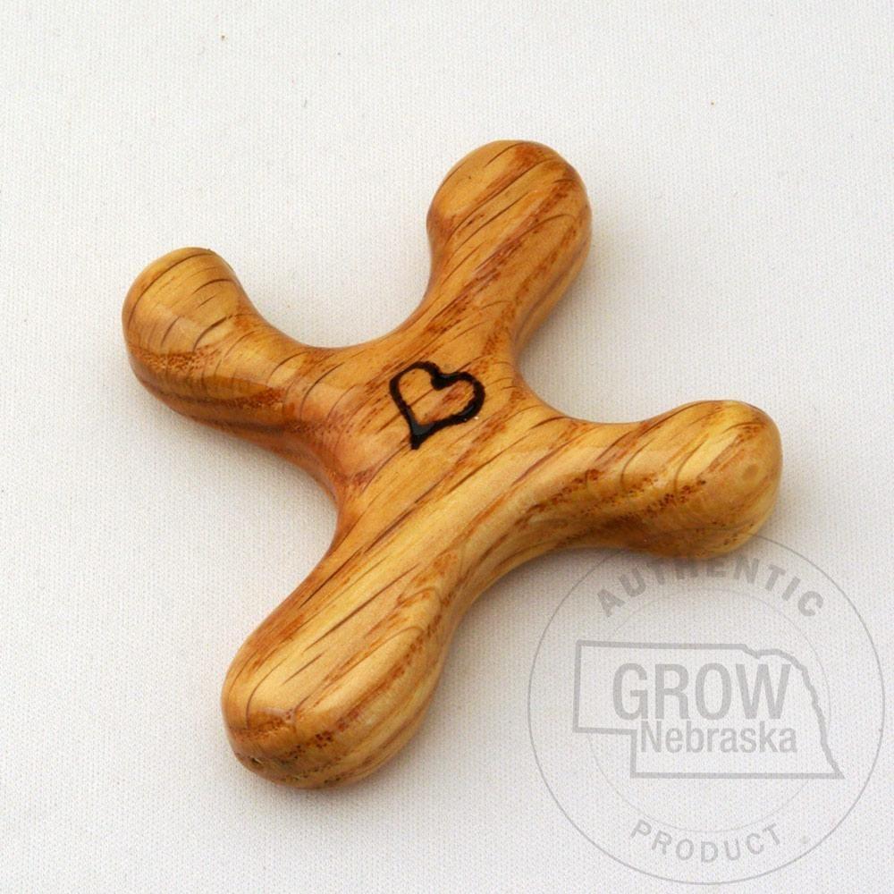 Besides cross clip art wall decor decorative wood cross decorative - The Cross Makers Of Seward Small Oak Palm Cross Enjoy A Handmade Crosses For Your