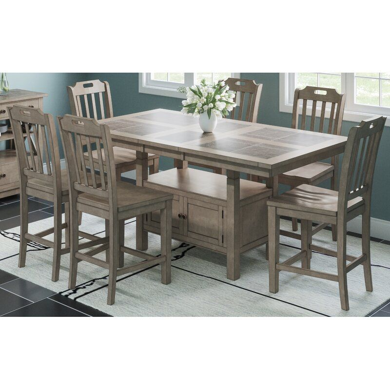32+ Counter height extendable dining table set Trending