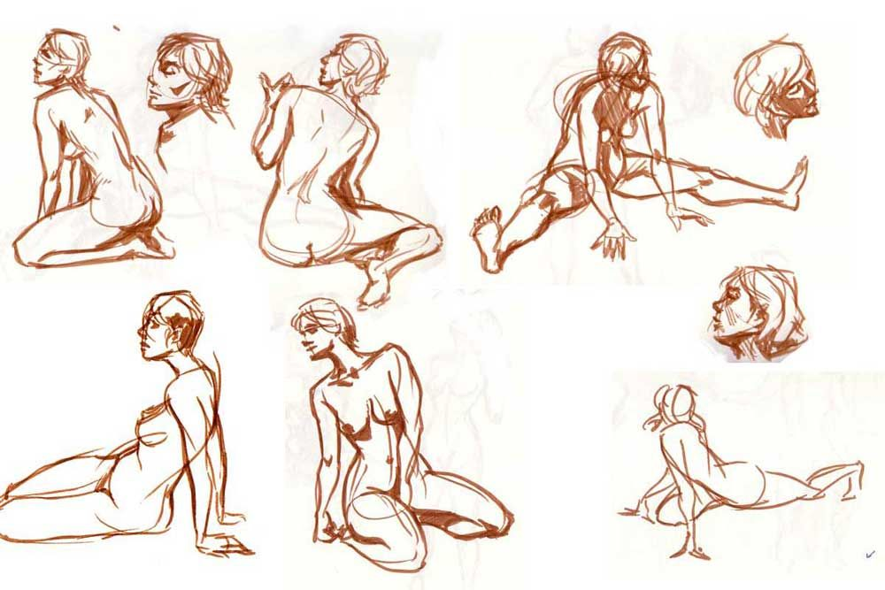Sexual come on gestures female