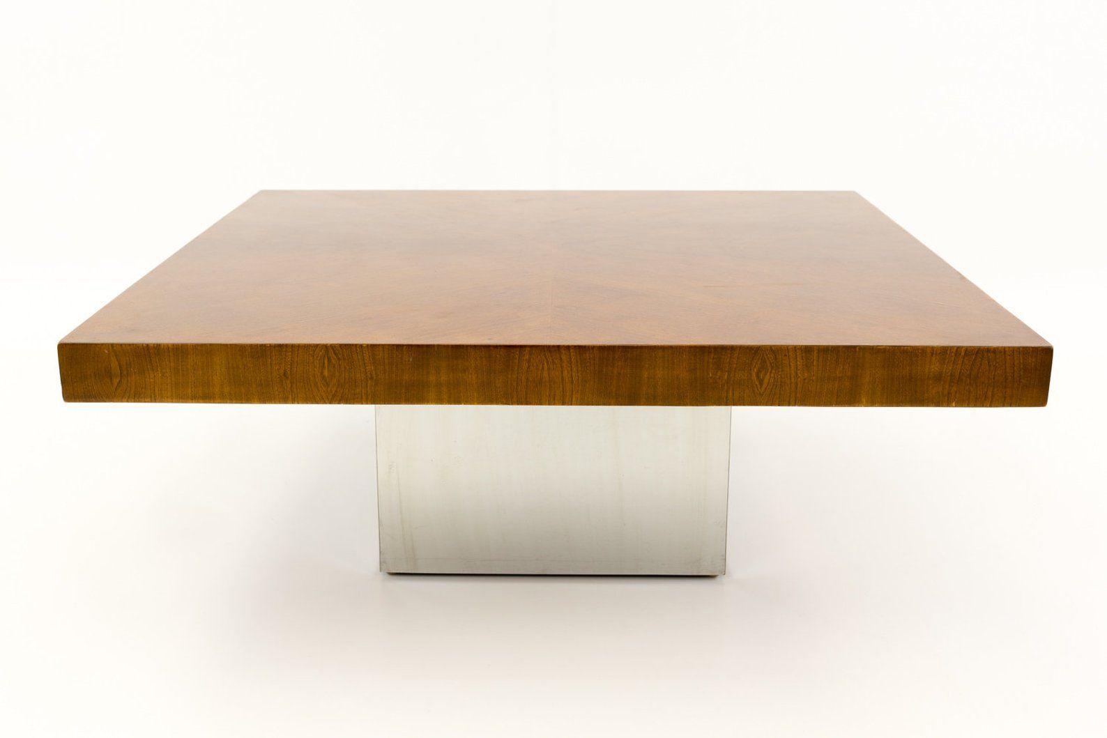 Milo Baughman Style Mid Century Modern Coffee Table Mcm Etsy Mid Century Modern Coffee Table Modern Coffee Tables Coffee Table [ 1059 x 1588 Pixel ]