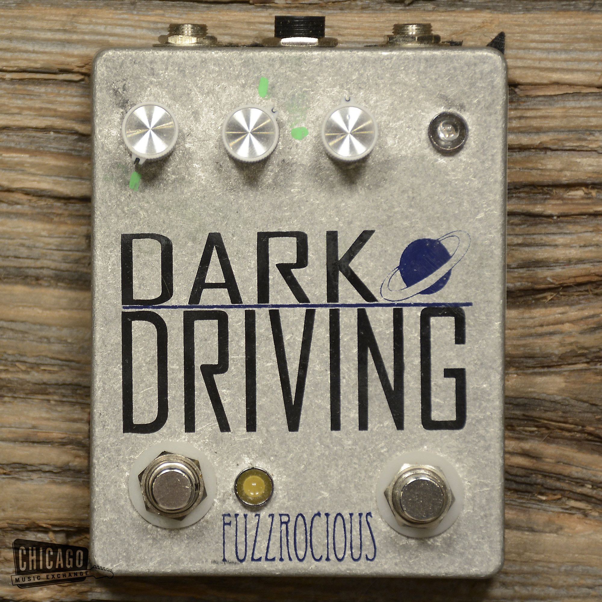 Fuzzrocious Dark Driving Low Gain Overdrive Pedal USED