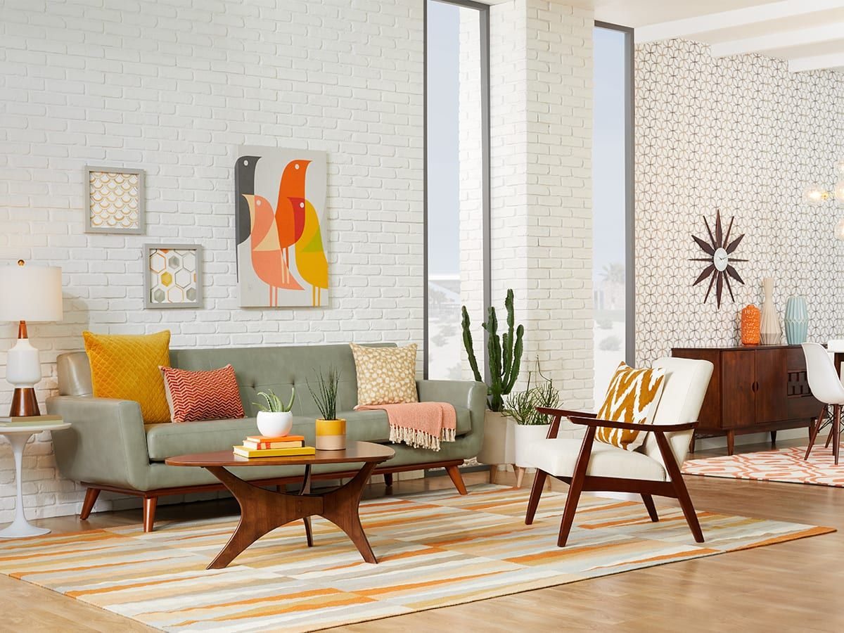 20 Mid Century Modern Living Room Ideas Overstock Com Mid Century Living Room Decor Modern Furniture Living Room Mid Century Modern Living Room #vintage #modern #living #room #ideas
