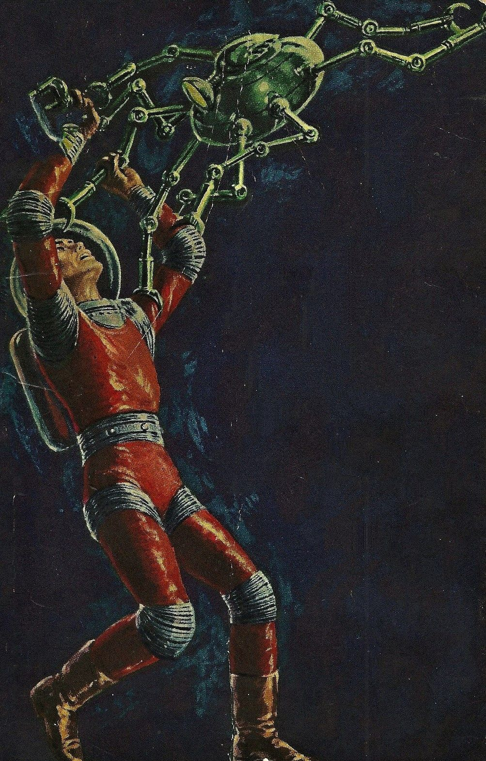 Ed Emshwiller - Rendezvous on a Lost World, 1961 / The Science Fiction Gallery