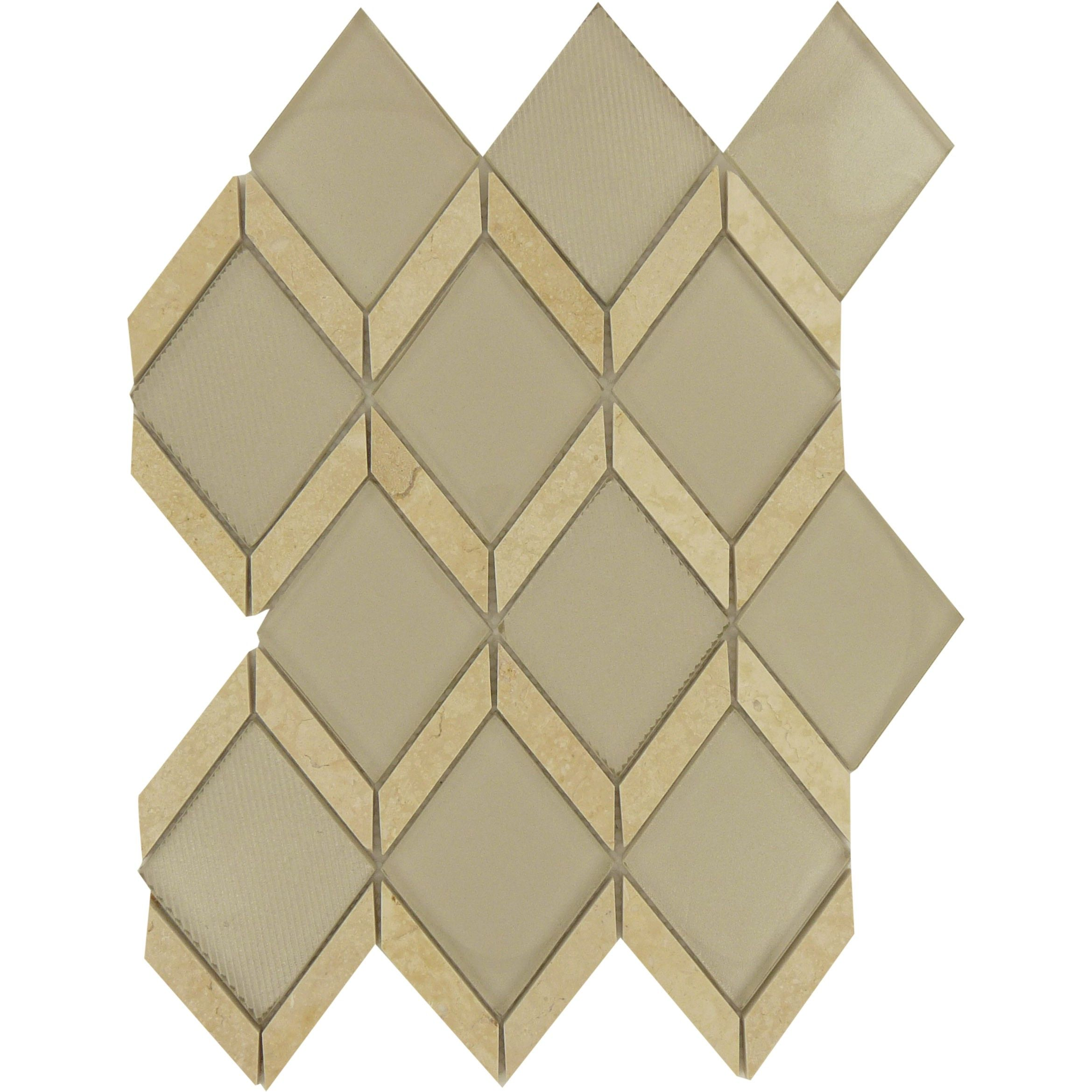 Gold Glass And Stone Diamond Tile Grout Stone Tiles And Stone