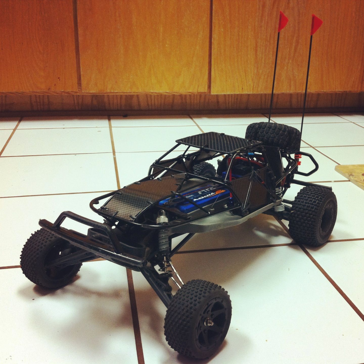 My custom long travel 2WD buggy slash Rc Autá