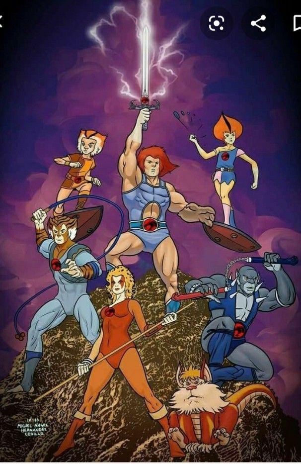 Thunder Cats by Leroy Kinnan in 2020 Thundercats cartoon