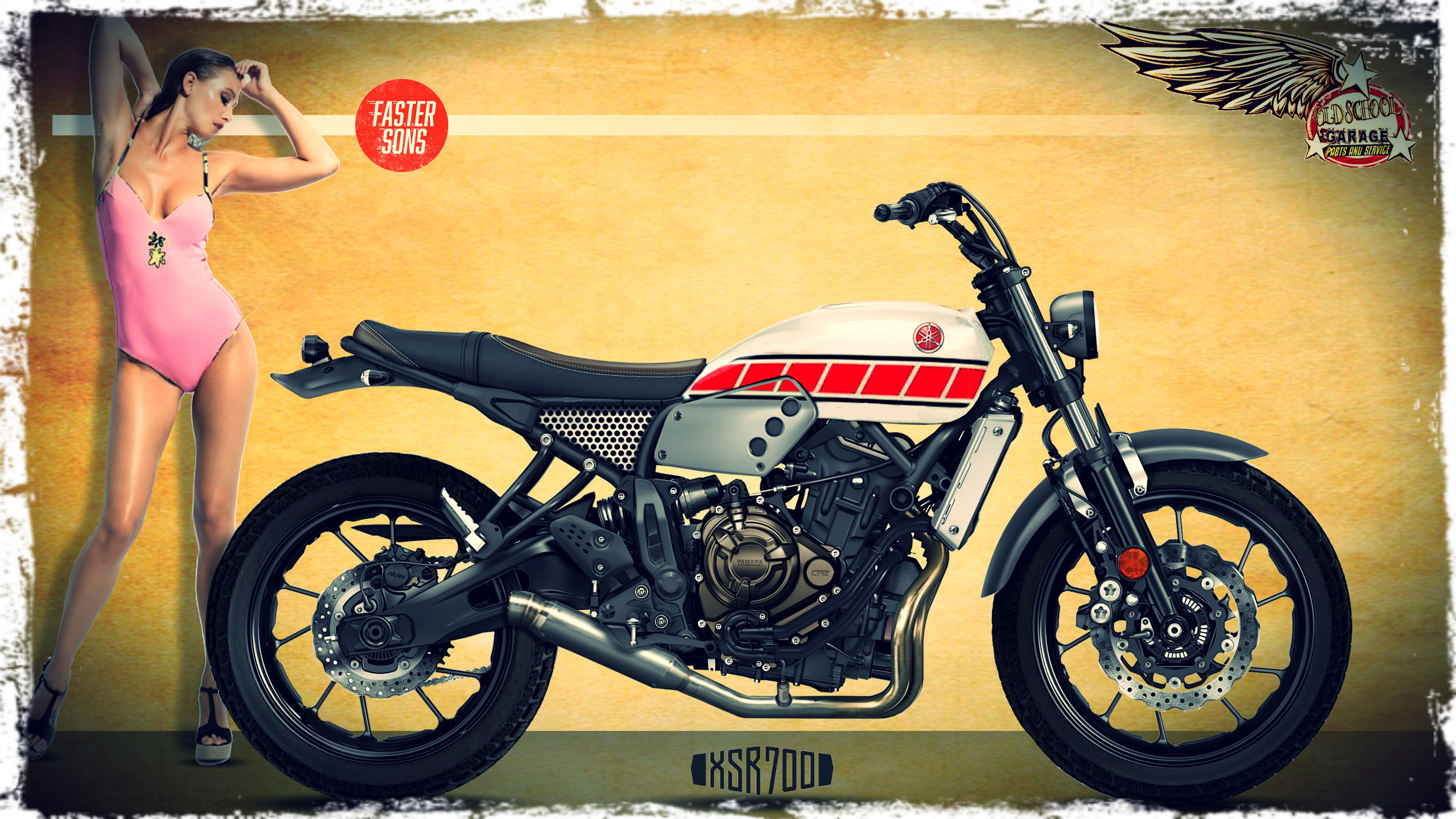 yamaha xsr 700 special scrambler tracker faster sons. Black Bedroom Furniture Sets. Home Design Ideas