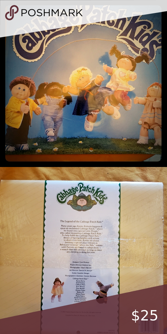 Cabbage Patch Calendar Cabbage Patch Patches Cabbage Patch Kids