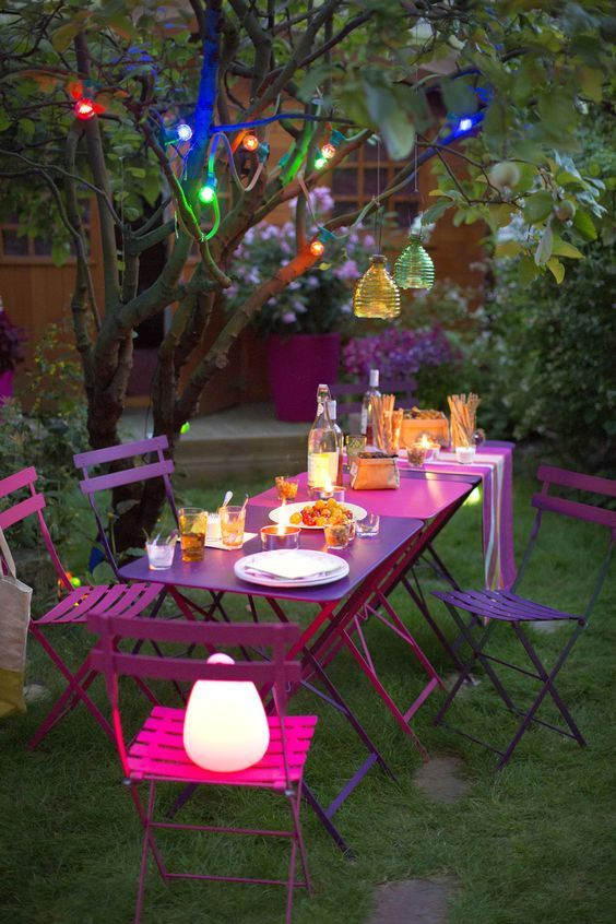 Night garden party ,styliste Philippe de Stefano for botanic ...