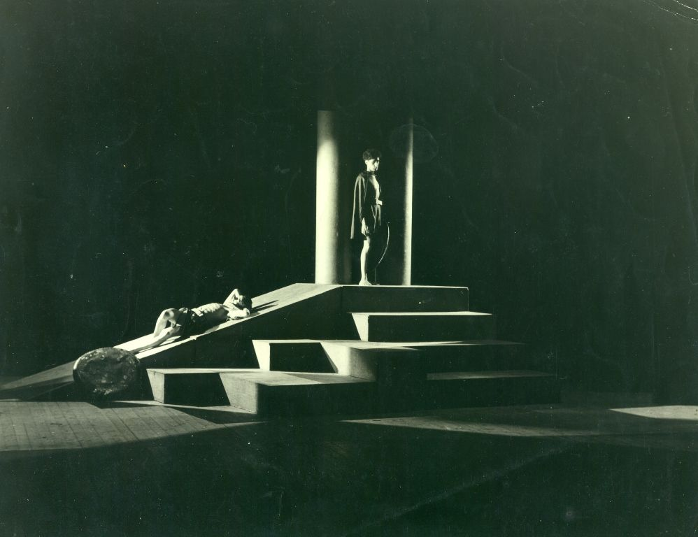 A production image from 1947s Operation Olive Branch  http://www.stratfordeast.com/