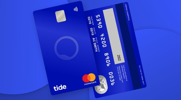 "The vertical debit card design reflecting ""how people bank"