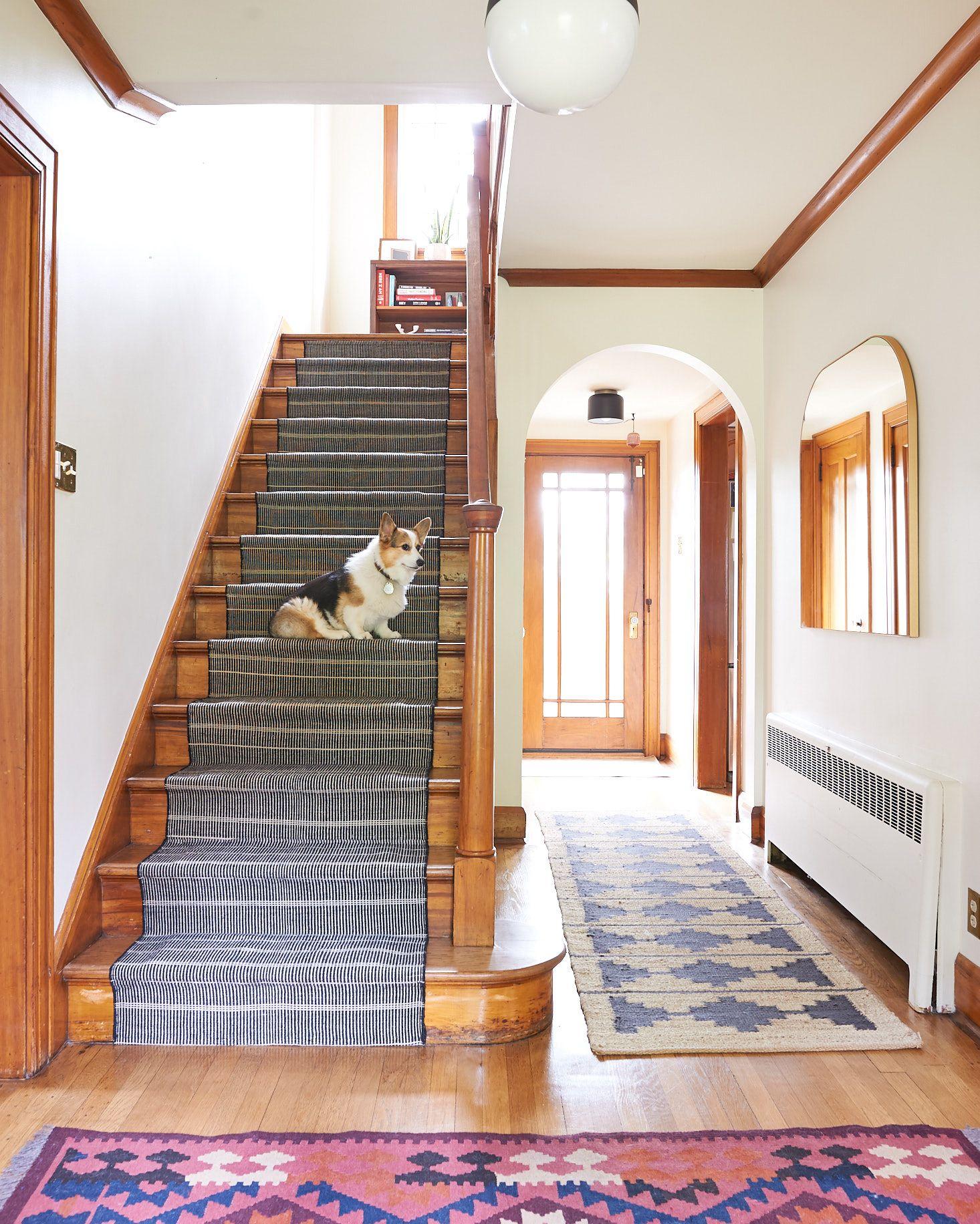 DIY Stair Runner Install Stairs, Carpet installation